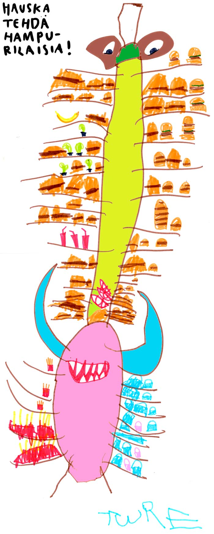 hampurilaishirvio